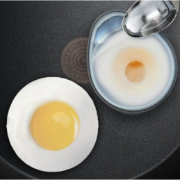 Lot 2 moules a oeufs silicone