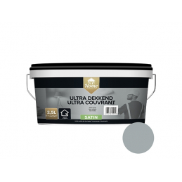 Ultra couvrant satin gris...