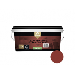 Ultra couvrant satin rouge...