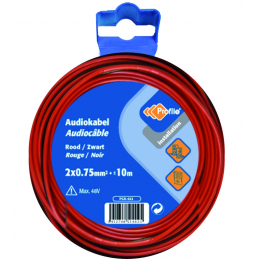 CABLE AUDIO 2X0.75MM²...