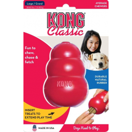 Kong toy rouge  l