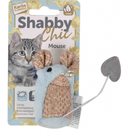 Jouet chat shabby chic...