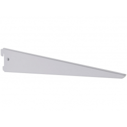 Support double blanc 37cm