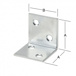 Equerre large 60x60mm