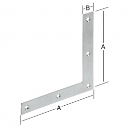 Equerre de chassis 250x30mm