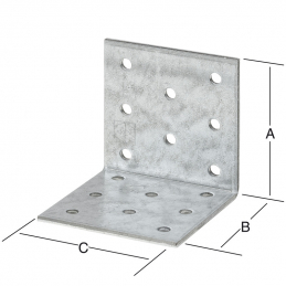 Equerre 60x60x40mm