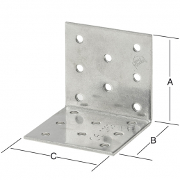 Equerre 60x60x60mm