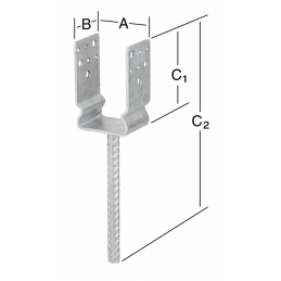 Support 71x60x125mm