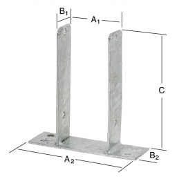 Support 71x50x200mm