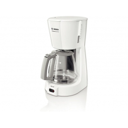 Cafetiere compact blanche...