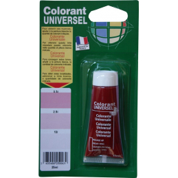 Colorant universel rouge...