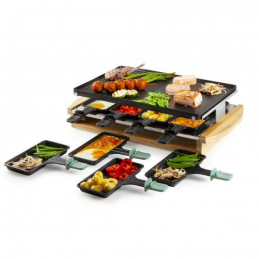 Raclette-grill bamboo...